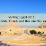 Visiting the pyramids 2017. Prramids camels and the best view