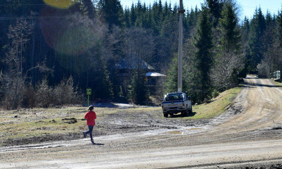 Walking trails Transylvania safety