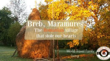 Breb Maramures, Beautiful Romanian Village