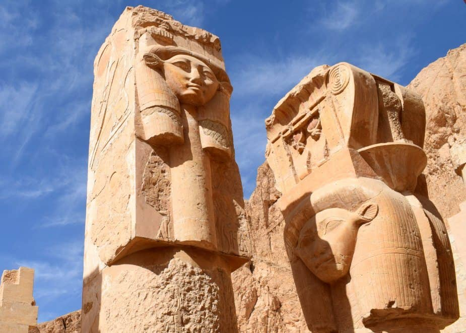 Goddess Hathor at Hatshepsut's Temple