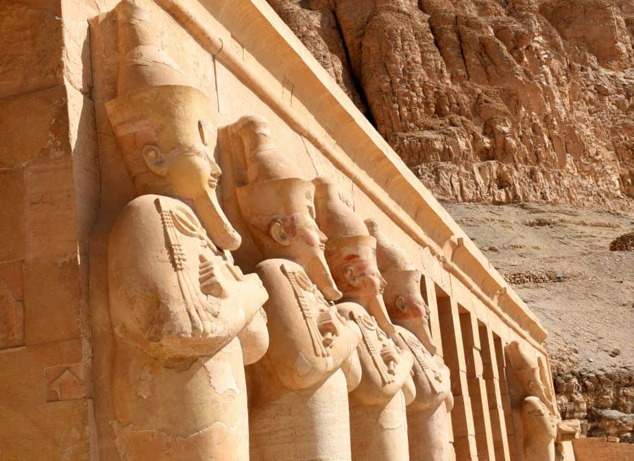 Goddess Hathor at Hatshepsut's Temple