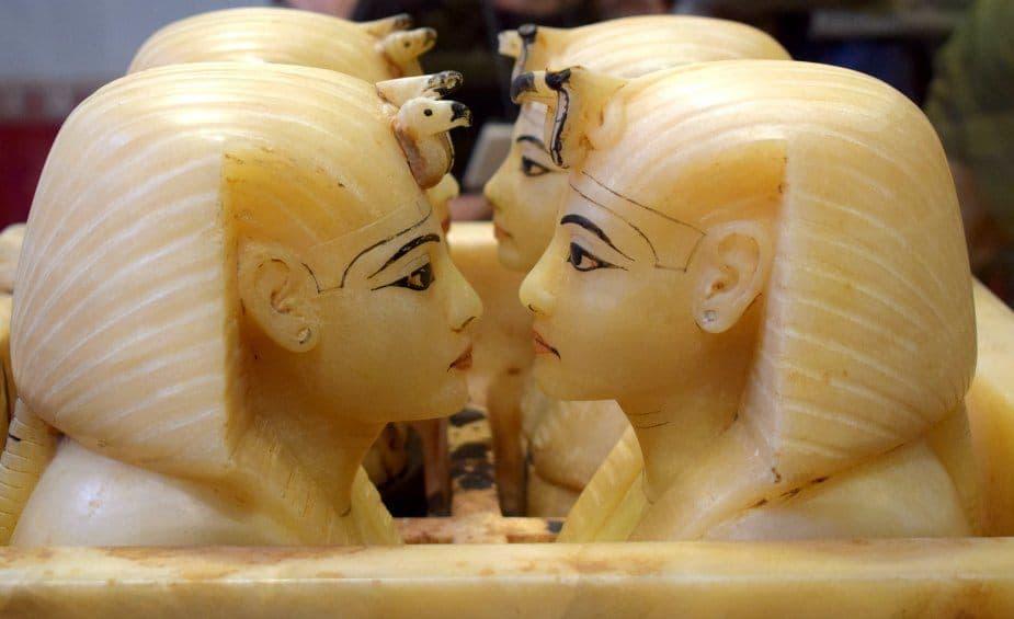 King Tut's canopic jars cairo museum