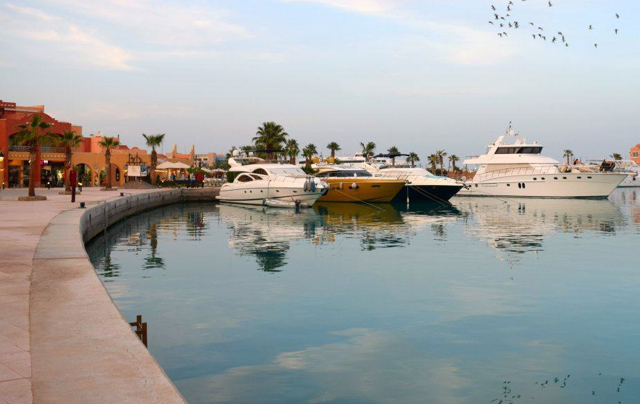 The Marina Hurghada. Restaurants Egypt