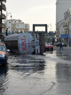 truck crash egypt hurghada
