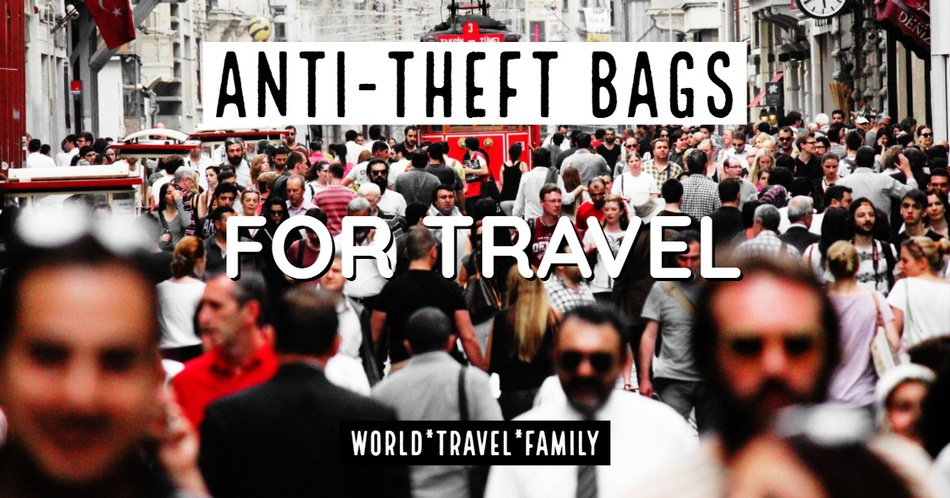 Anti Theft Bags For Travel