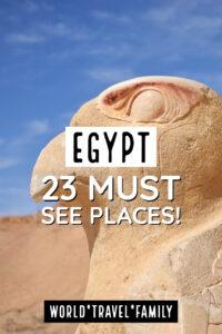 Egypt Bucket List Places