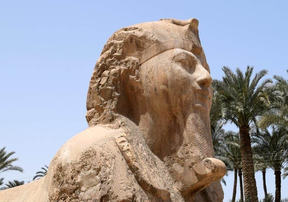 The Memphis Spinx Egypt.