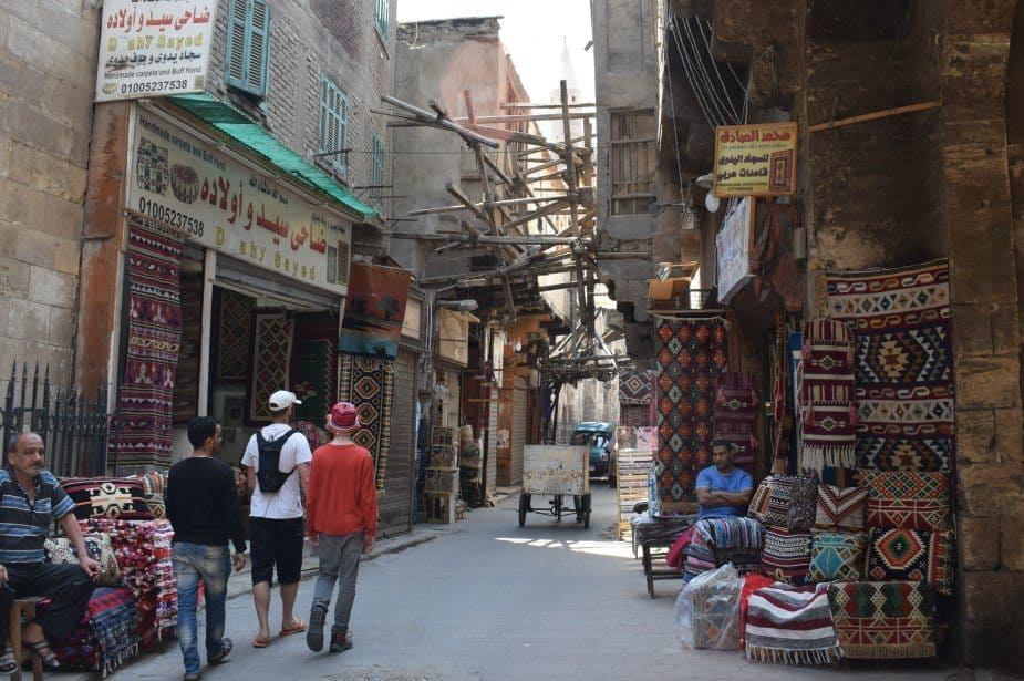 The Old Bazaar in Cairo