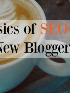 basics of SEO for new bloggers