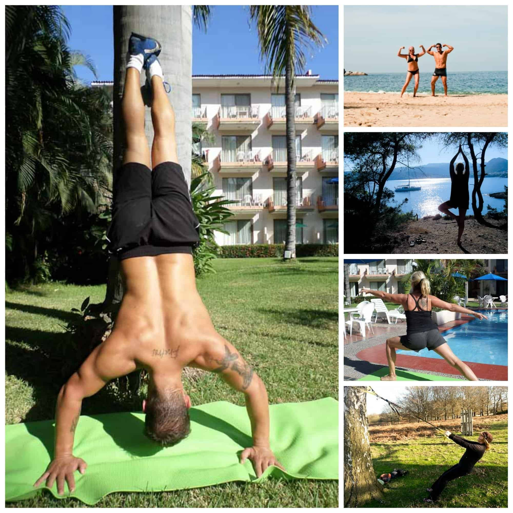 exercise and staying fit while travelling