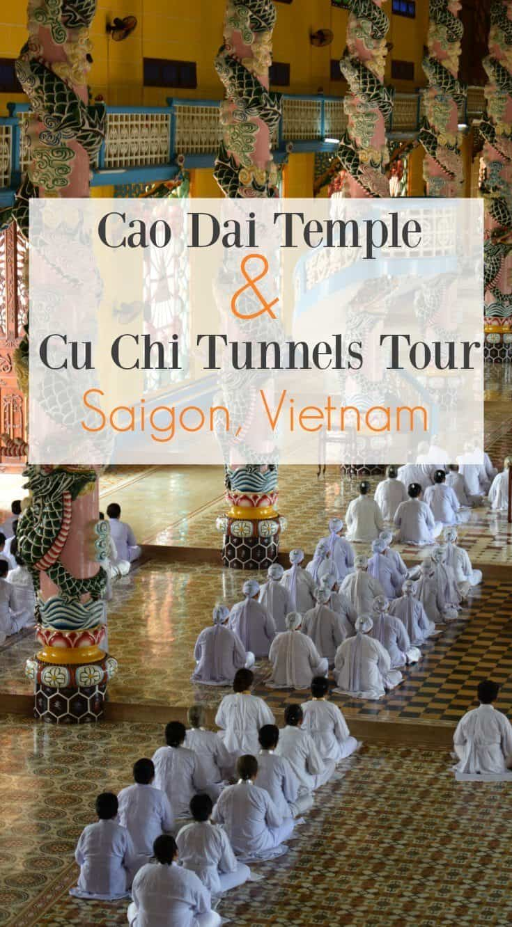 Cao Dai Temple and Cu Chi Tunnels Tour Saigon Vietnam Review Get Your Guide