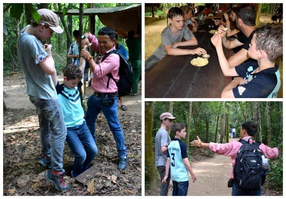 Cu Chi Tunnels Tour Get Your Guide Reviw Educational Worldschoolers