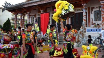 Hoi An Dragon Dance. Living in Hoi An