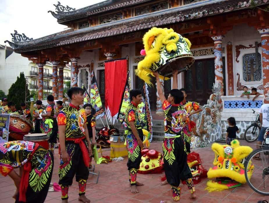 Hoi An Dragon Dance. Living in Hoi An