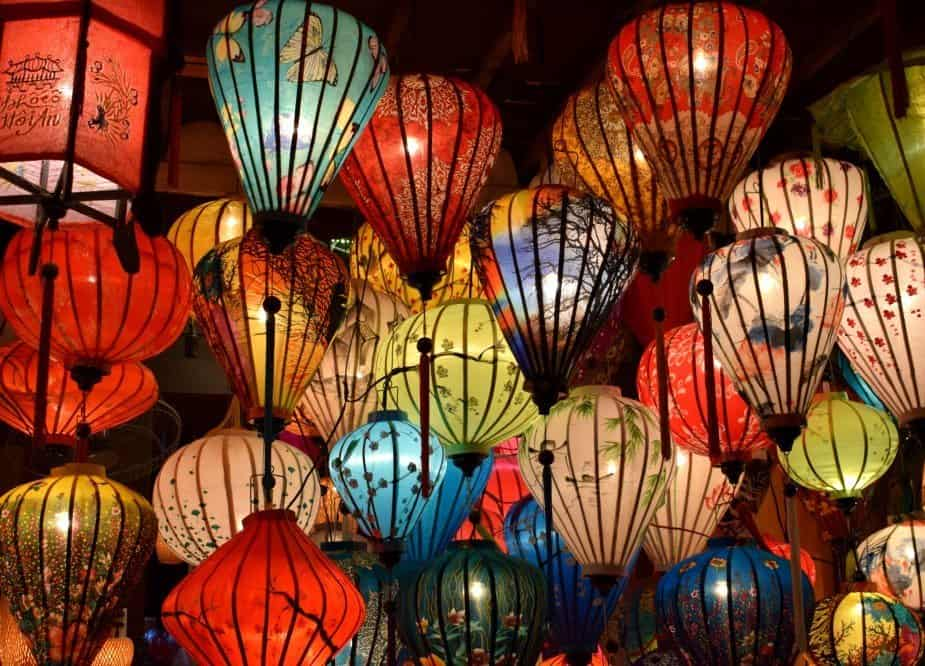 Hoi An Lanterns Living in Hoi An