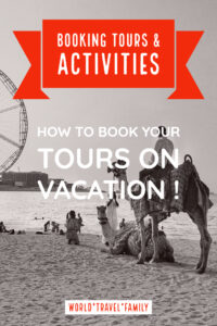 How to book your tours on vacation