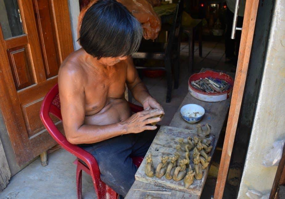 Making Pottery Hoi An Vietnam Pottery Village