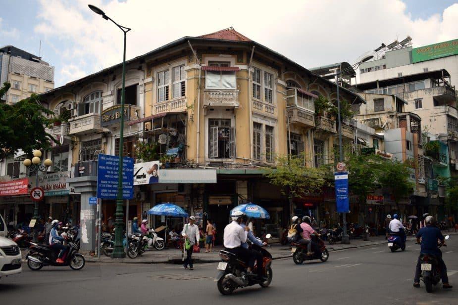 Vietnam Travel Blog Saigon Streets