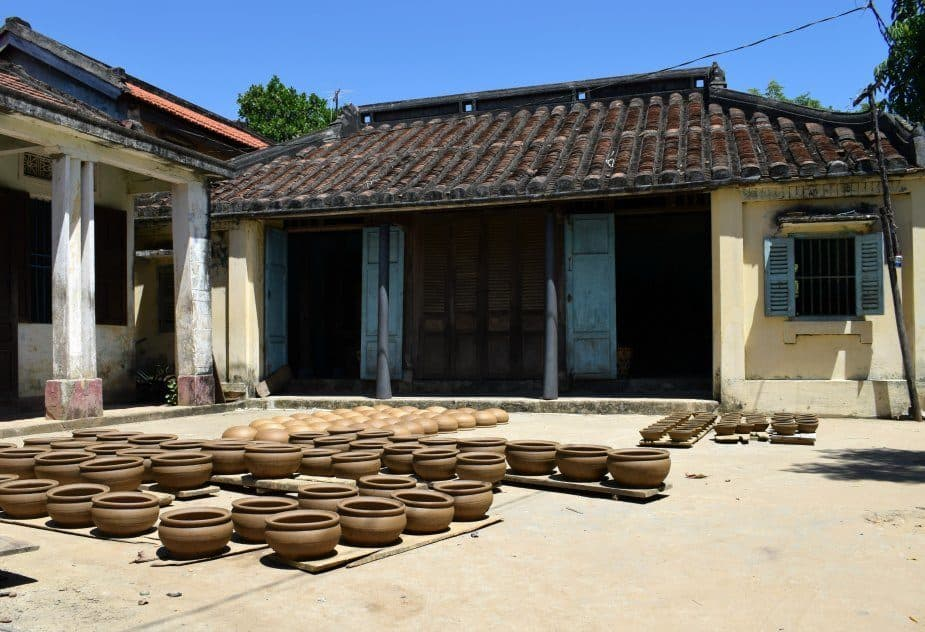 Travel Vietnam Hoi An Pottery Village Thanh Ha