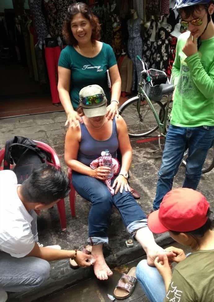 bike accident hoi an vietnam