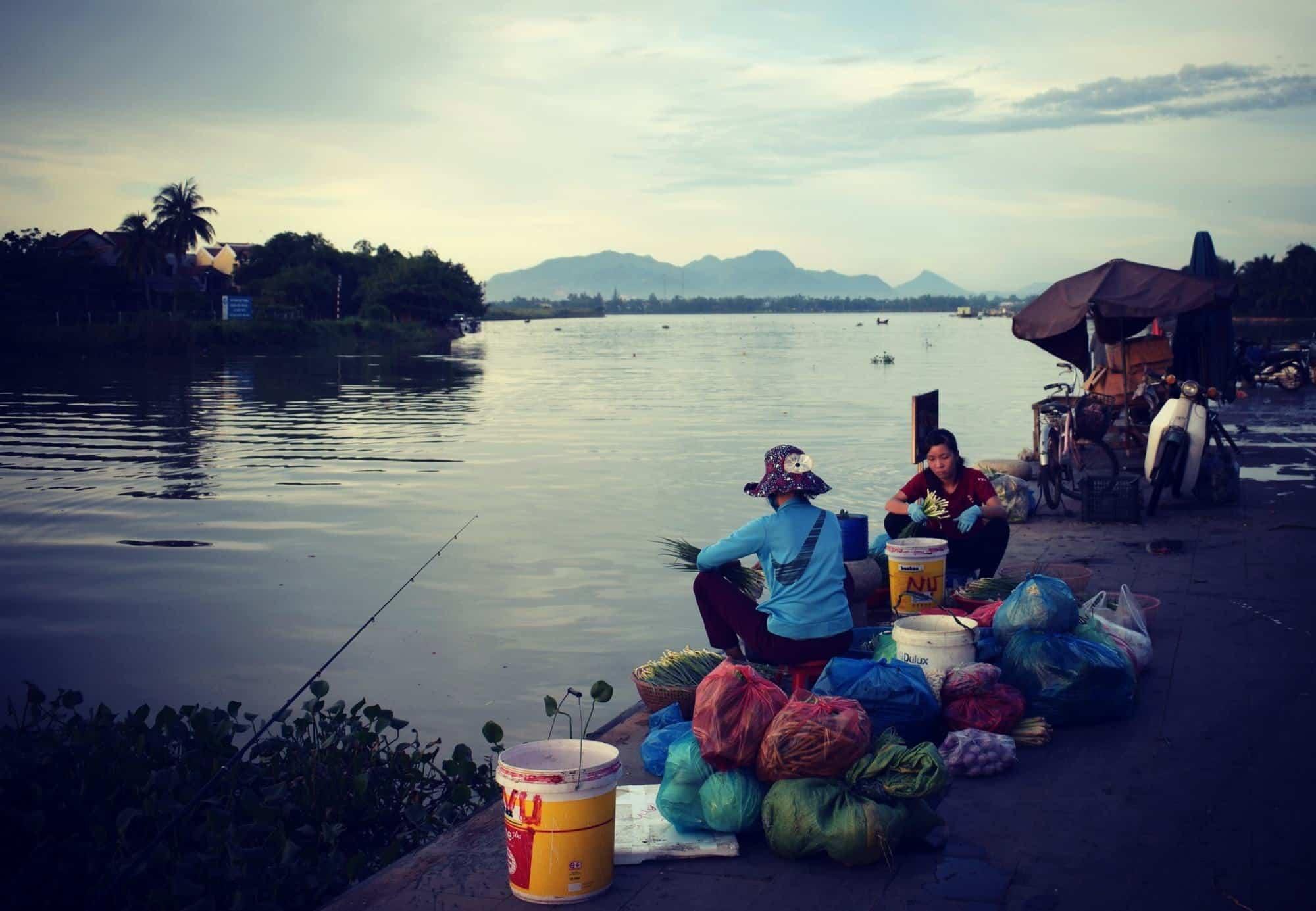 Dawn at Hoi An Market