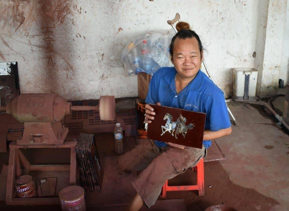 disabled art saigon vietnam