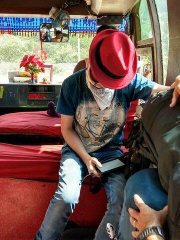 bus life glamorous travel lifestyle