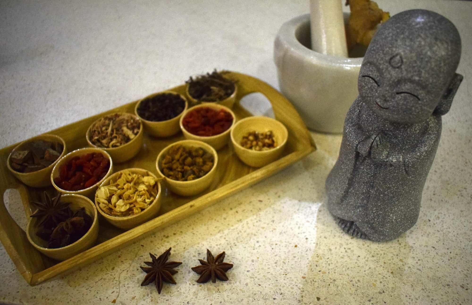 Almanity herbal tea bar