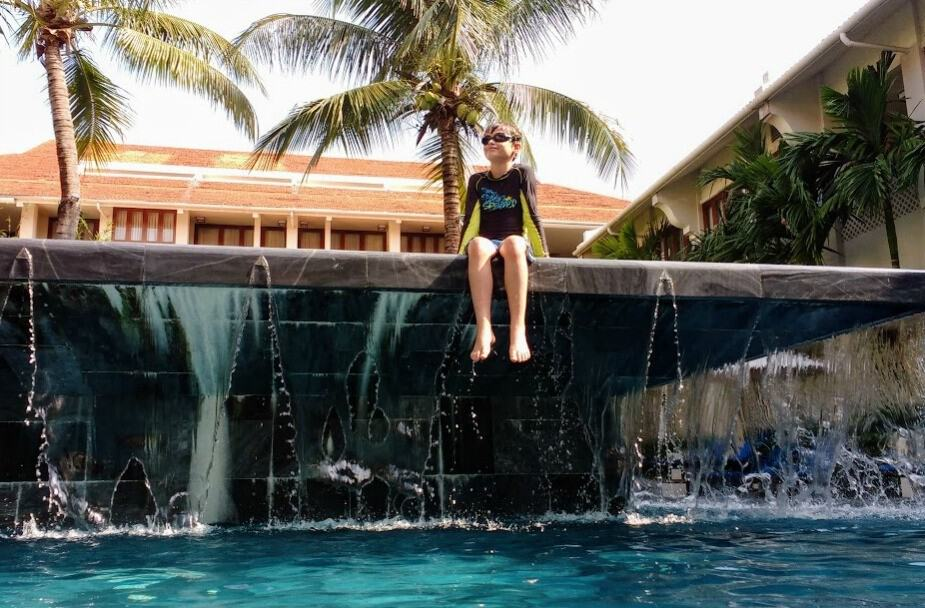 Almanity hotel Hoi An with kids