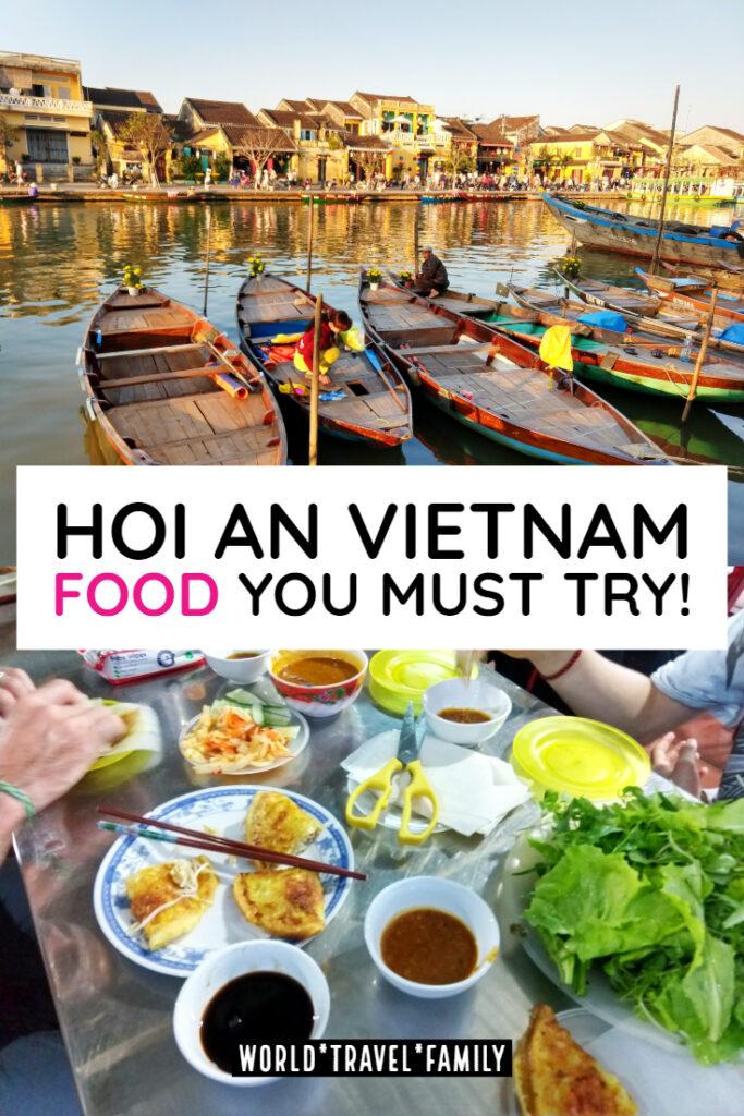 Hoi An Vietnam, Food, Markets and Restaurants you must try Pinterest