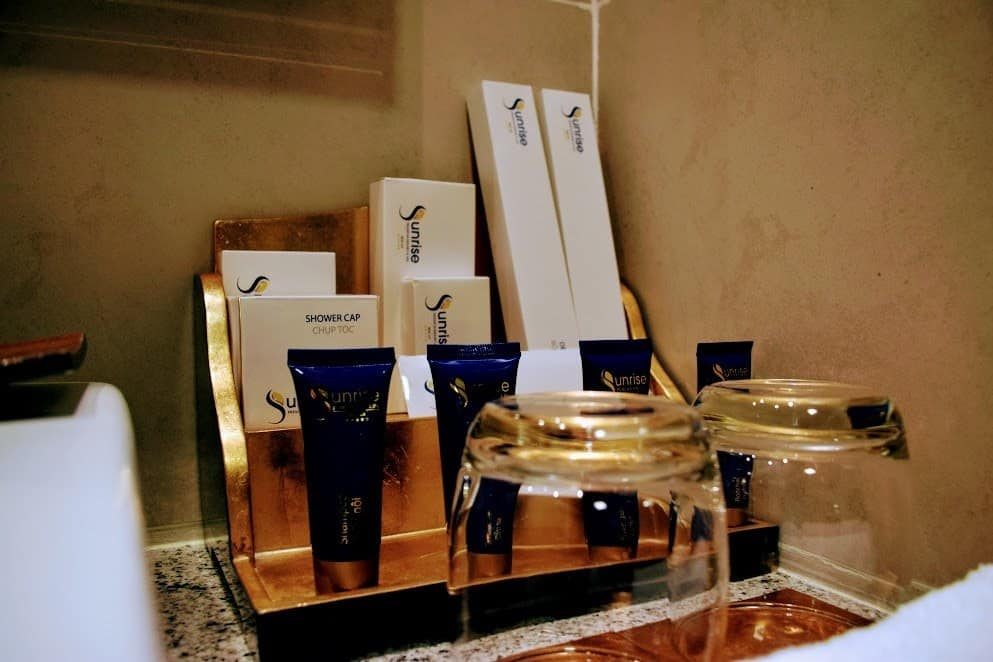 Hotel Toiletries Luxury Sunrise Hotel Resort Hoi An