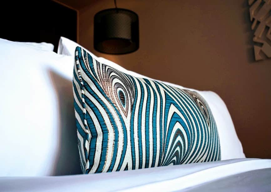 Luxury hotel bedding Sunrise Premium Resort Hoi An