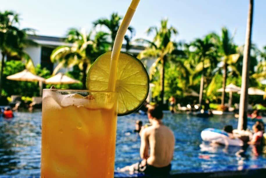 Vietnam travel luxury hotel buffet