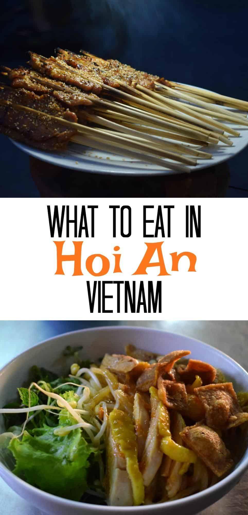 What to Eat in Hoi An Vietnam best food, best restaurants