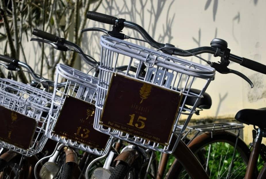 almanity resort hoi an free bikes