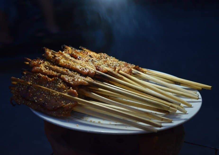 best food in Hoi An Meat on a Stick