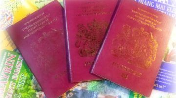 Getting a new UK passport in Bangkok Thailand