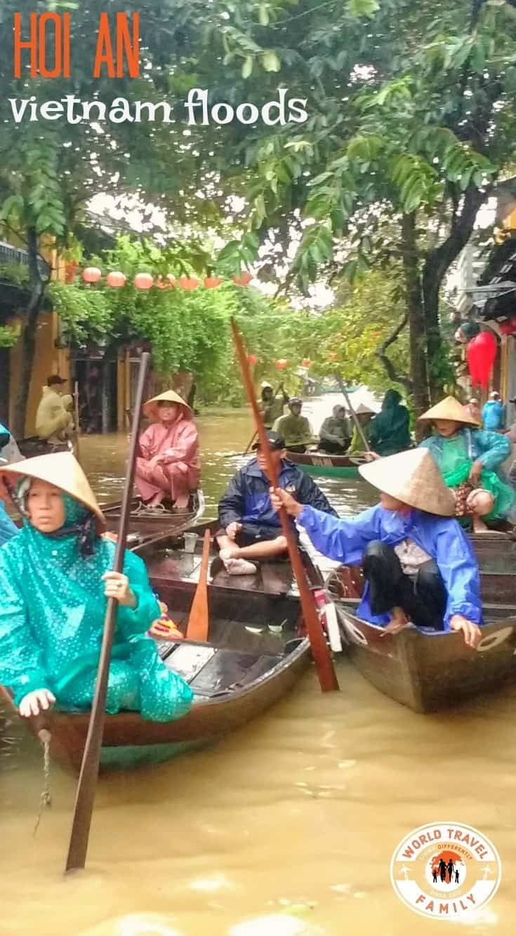 Hoi An Floods and Flooding Season ( We were there throughout!)