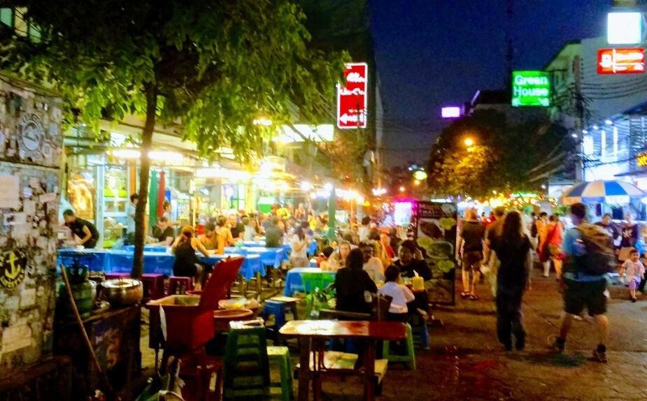 Thailand Itinerary Bangkok Rambuttri Rd