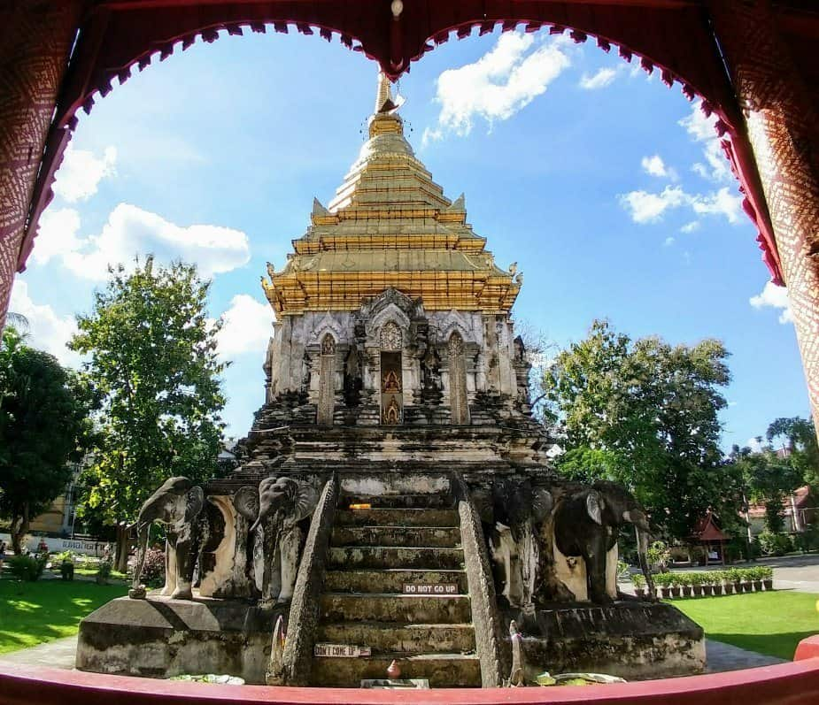 Things to do in Northern Thailand Chiang Mai Oldest Temple Wat Chiang Man