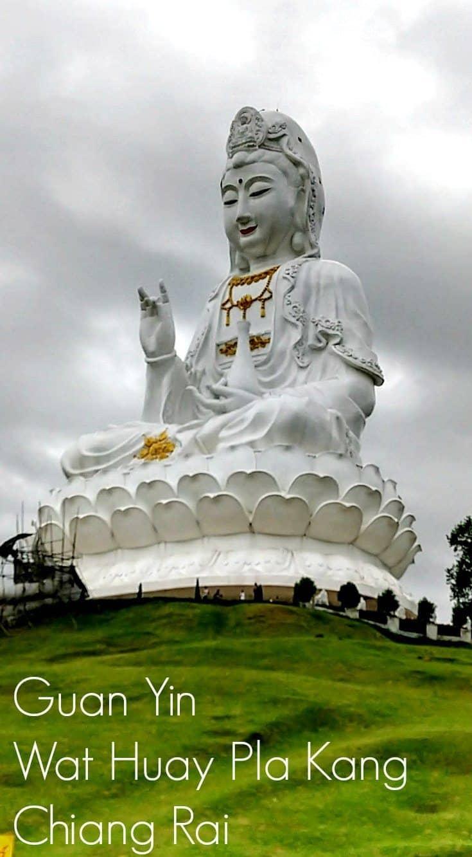 Chiang Rai Lady Buddha Guan Yin Wat Huay Pla Kang
