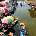 Day Tour From Bangkok Tha Kha Floating Market and Maeklng Railway with Take Me Tour Local Expert