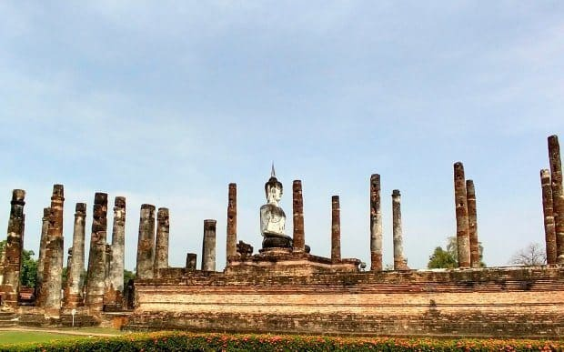 Sukhothai Historic Park Northern Thailand
