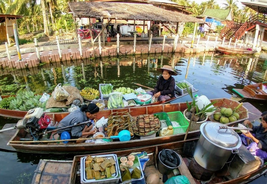 Tha Kha Floating Market Bangkok Tour Take me guide