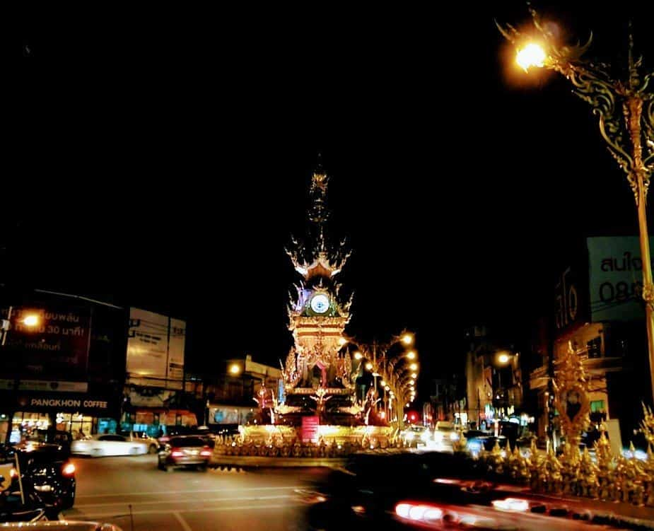 Things to do in Chiang Rai clock tower Chiang Rai City