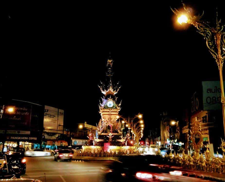Things to do in Chiang Rai clock tower Chiang Rai City