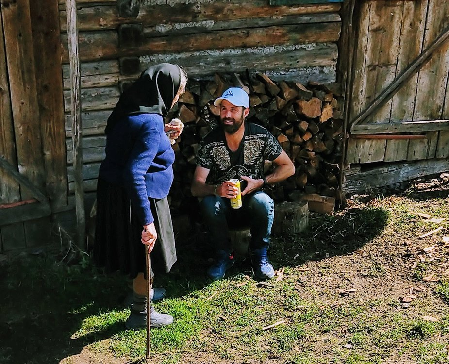 digital nomad family life in a village in Romania