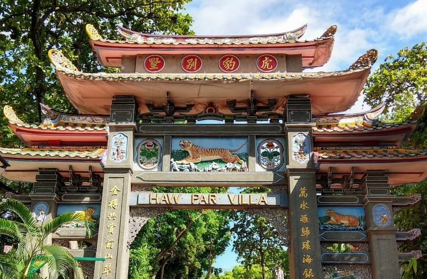 Haw Par Villa Singapore. Free Things to do in Singapore