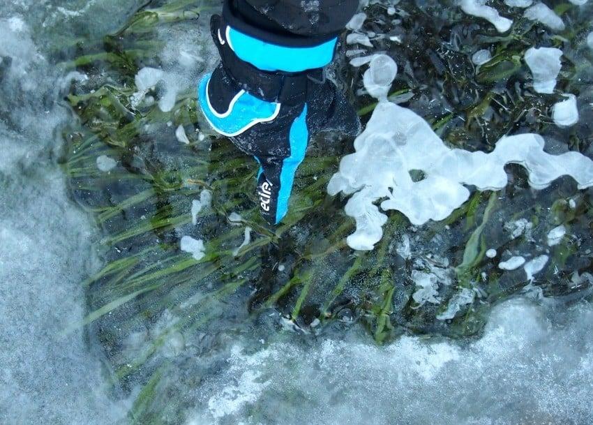 Ice in Breb Romania December January