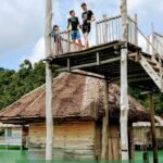 Island near Singapore. Family Travel in Indonesia, Telunas Resorts